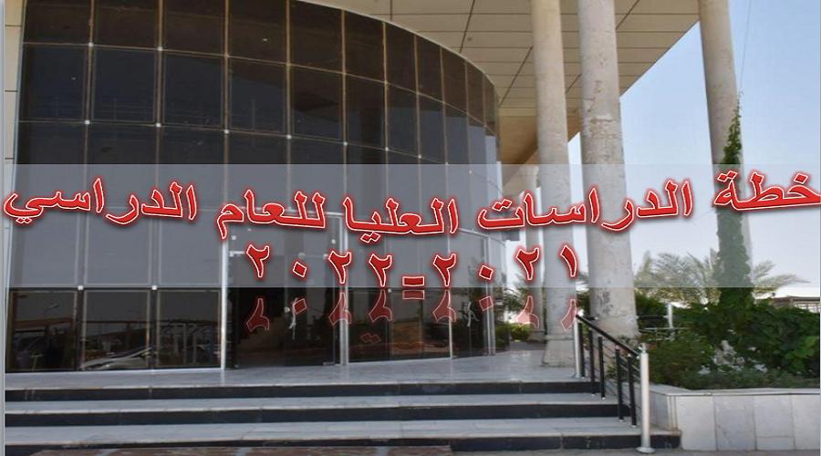 كلية التربية للعلوم الصرفة تعلن عن خطة الدراسات العليا للعام الدراسي 2021-2022