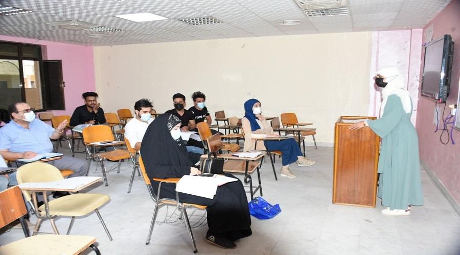 كلية التربية للعلوم الصرفة تباشر بالتطبيق المدرسي لطلبة المرحلة الرابعة للعام الدراسي 2020-2021